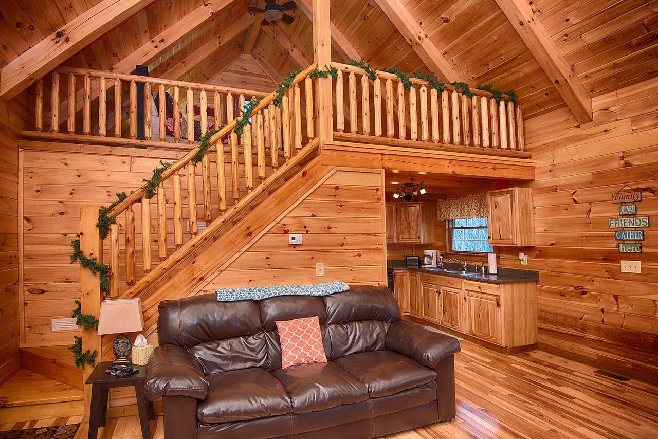 Fallen Leaf Cabin Hocking Hills Ohio Rental Cabin